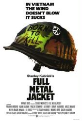 Full Metal Jacket movie poster [a Stanley Kubrick film] 27'' X 39''