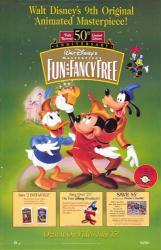 Fun & Fancy Free movie poster [Walt Disney] 26x40 video poster