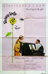 Funny Lady movie poster [Barbra Streisand, James Caan) 27x41 GD