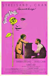 Funny Lady movie poster [Barbra Streisand/James Caan] Spanish 27 X 41