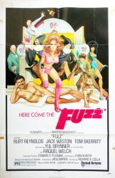 Fuzz movie poster [Burt Reynolds, Raquel Welch] 27x41 original