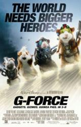 G-Force movie poster (2009) [Disney] 27x40 original