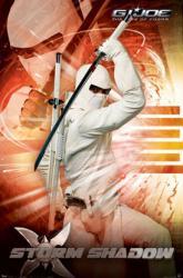 G.I. Joe: The Rise of Cobra movie poster [Storm Shadow] 22x34