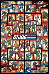 G.I. Joe poster: Cast (24x36) Animated TV series