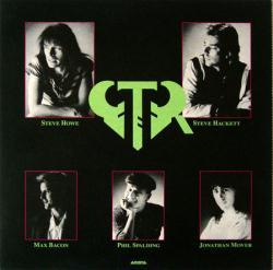 GTR poster: G.T.R. vintage LP/album flat (1986) 12x12