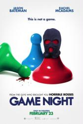 Game Night movie poster (2018) original 27x40 advance