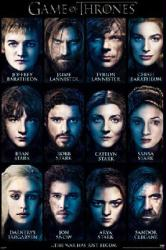 Game of Thrones poster: Characters (24'' X 36'') HBO TV series