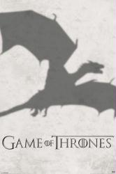 Game of Thrones poster: Dragon Shadow (24x36) HBO TV series