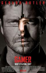 Gamer movie poster [Gerard Butler, Logan Lerman] 27x40