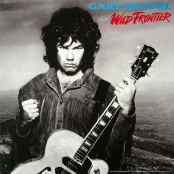 Gary Moore poster: Wild Frontier vintage LP/Album flat (1987)