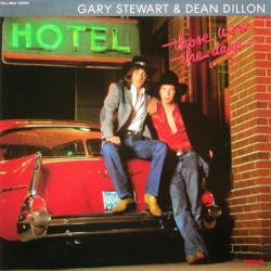 Gary Stewart & Dean Dillon poster: Those Were the Days LP/album flat