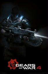 Gears of War 4 video game poster (22x34)