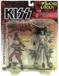 KISS Psycho Circus: Gene Simmons & The Ring Master figures (McFarlane)