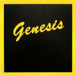Genesis poster: Genesis vintage LP/Album flat
