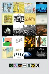 Genesis poster: Albums Discography (24x36) rock band