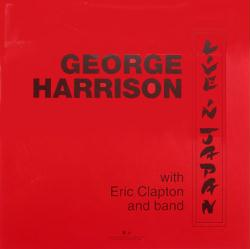 George Harrison poster: Live In Japan vintage LP/Album flat