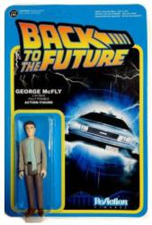 Back to the Future: George McFly ReAction action figure (Funko/2014)