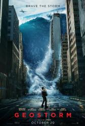 Geostorm movie poster (2017) original 27x40 advance