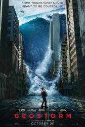 Geostorm movie poster (2017) 27x40 original advance