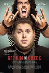 Get Him to the Greek movie poster [Jonah Hill/Russell Brand] 24 X 36