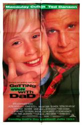 Getting Even With Dad movie poster [Macaulay Culkin, Ted Danson] 27x41