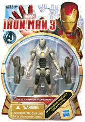 Iron Man 3: Ghost Armor Iron Man action figure (Hasbro/2012)
