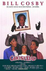 Ghost Dad movie poster [Bill Cosby] 1990 original 27x40