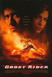 Ghost Rider movie poster [Nicolas Cage, Eva Mendes] 26x38