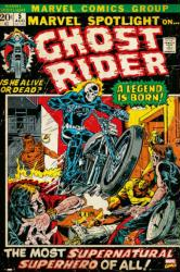 Ghost Rider poster: Marvel Spotlight 5 (24 X 36) Comic Book Cover