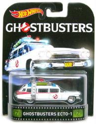 Hot Wheels Retro Entertainment: Ghostbusters Ecto-1 diecast vehicle