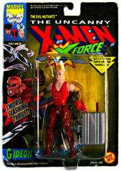 The Uncanny X-Men X-Force [Evil Mutants] Gideon figure (ToyBiz/1992)