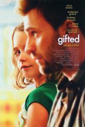 Gifted movie poster [Chris Evans, Mckenna Grace] 27x40 original