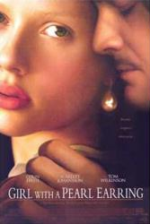 Girl With A Pearl Earring movie poster [Colin Firth, Johansson] 27x40