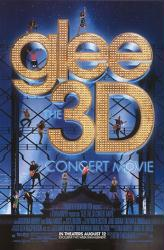 Glee 3D: The Concert Movie movie poster (2011) one-sheet