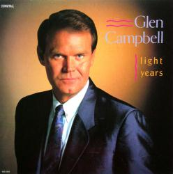 Glen Campbell poster: Light Years vintage LP/Album flat