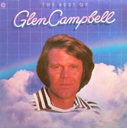 Glen Campbell poster: The Best of Glen Campbell clothesline album flat