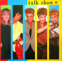 The Go-Go's poster: Talk Show vintage LP/Album flat