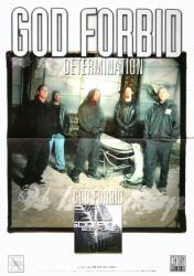 "God Forbid poster: Determination (16 1/2"" X 23 1/2"" promo poster)"