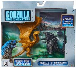 "Godzilla King of the Monsters: 3.5"" Godzilla & King Ghidorah figures"