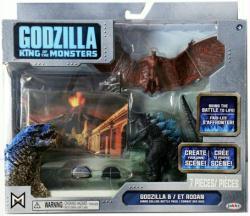 Godzilla King of the Monsters: Godzilla & Rodan figures