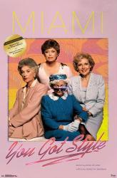 The Golden Girls poster: Miami You Got Style Album (22x34)