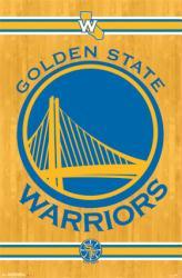 Golden State Warriors poster: Logo (NBA) 22x34