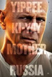 A Good Day to Die Hard movie poster [Bruce Willis] original 27 X 40