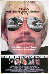 Good Guys Wear Black movie poster [Chuck Norris] 25x38 original