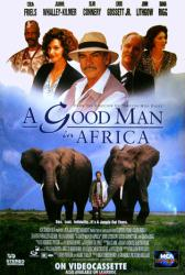 A Good Man In Africa movie poster [Sean Connery & John Lithgow] video