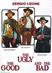 The Good, the Bad and the Ugly movie poster [Eastwood] 27 1/2'' X 39''