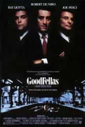 Goodfellas movie poster [Ray Liotta/Robert DeNiro/Joe Pesci] 27 X 39