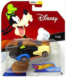 Hot Wheels Character Cars: Disney Goofy die-cast vehicle