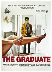 The Graduate movie poster [Dustin Hoffman] 27'' X 39''