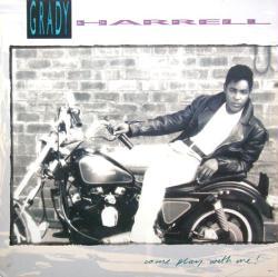 Grady Harrell & La Rue poster: Vintage LP/Album flat (1989) 2-sided